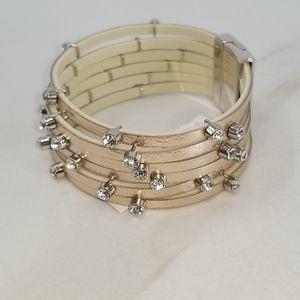 GUESS Rose Gold & Diamond Bracelet